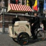Vintage Bakfiets te huur voor ijsjes