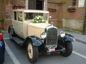 Citroën C4 trouwauto ceremoniewagen bruidsswagen