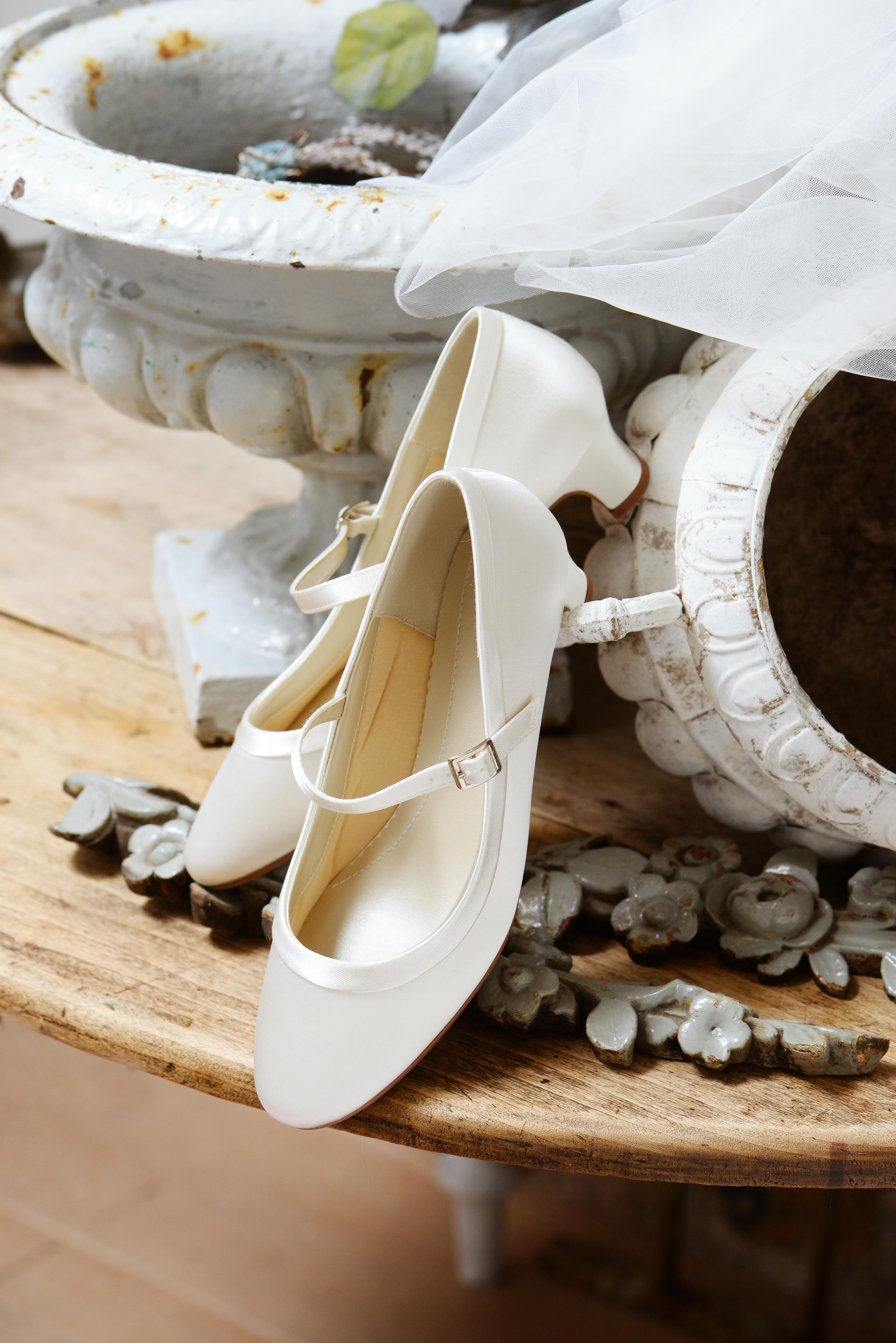Bruidsschoenen Trouwschoenen Sneakers Pumps Bruid Larissa