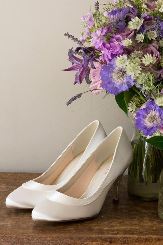 Bruidsschoenen Trouwschoenen Sneakers Pumps Bruid Nicole