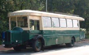 Parijse stadsbus ceremoniebus