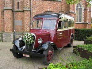 Citroën ceremoniebus A23 trouw huwelijk