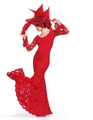 Rode Kanten Trouwjurken Vrouwelijk Sexy Lange Mouwen