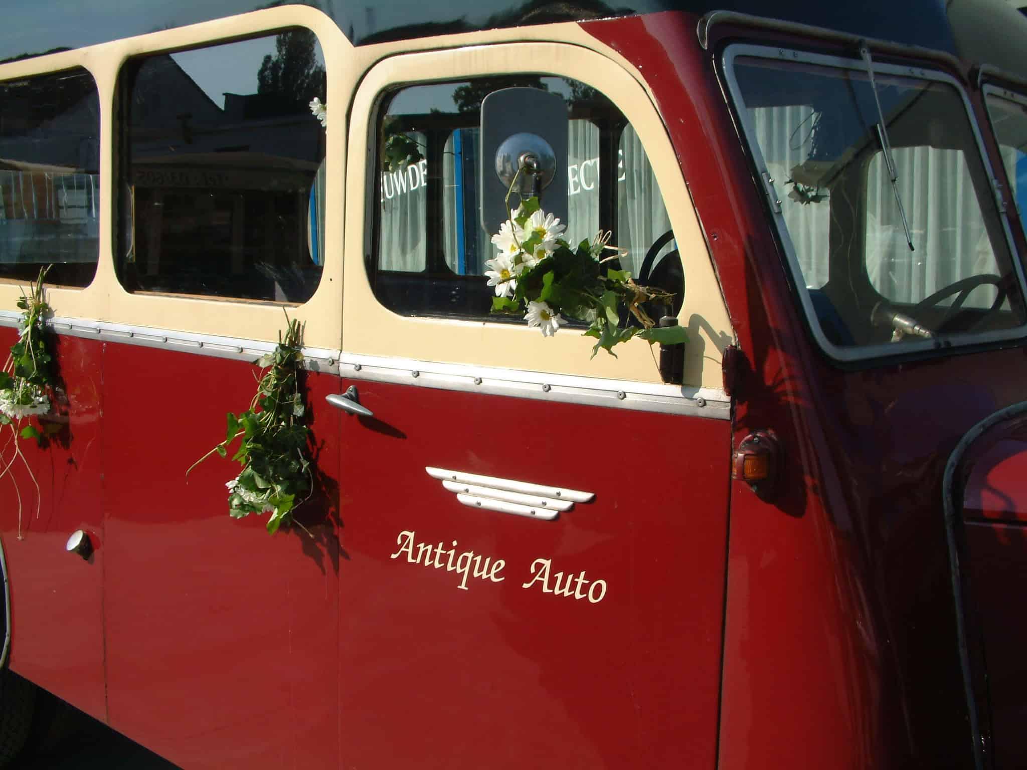 Citroën A23 ceremoniebus 1933 trouw huwelijk