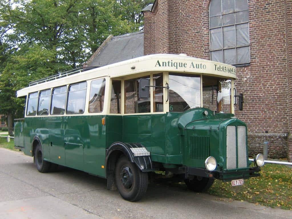 Parijse stadsbus partybus