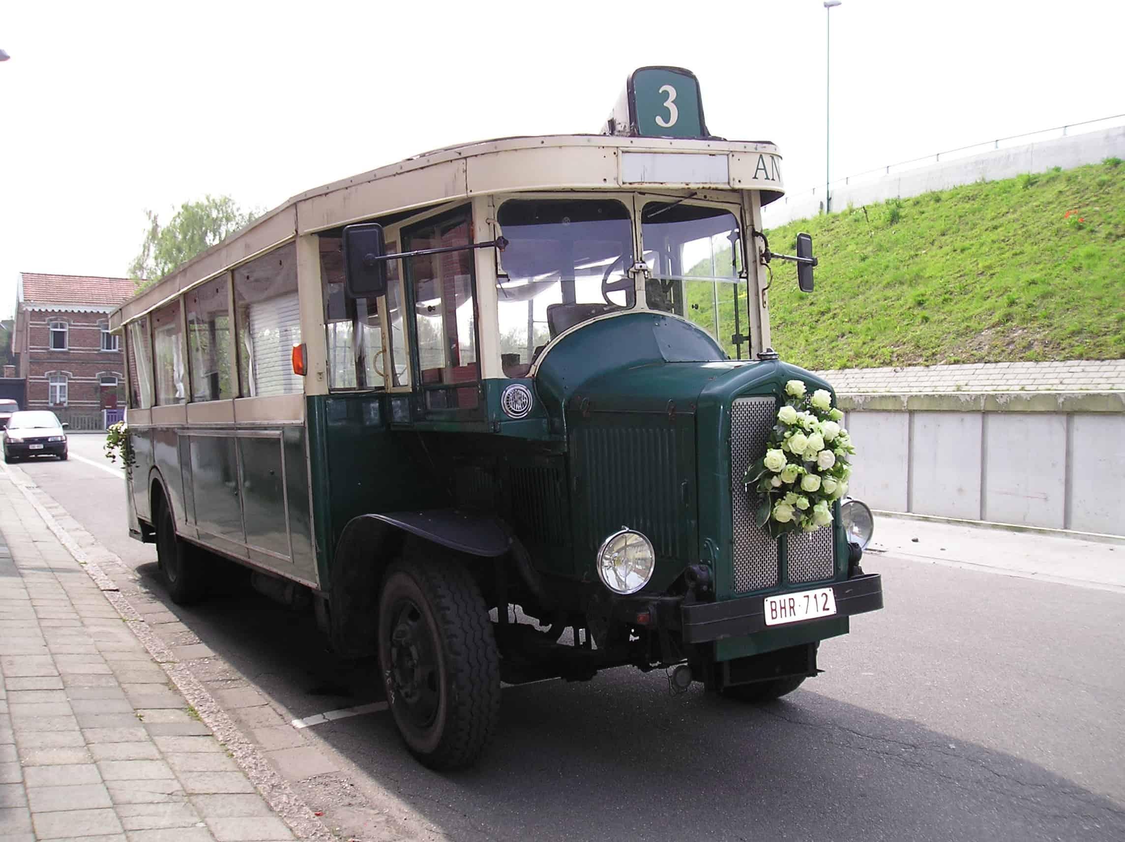 Parijse stadsbustrouwbus