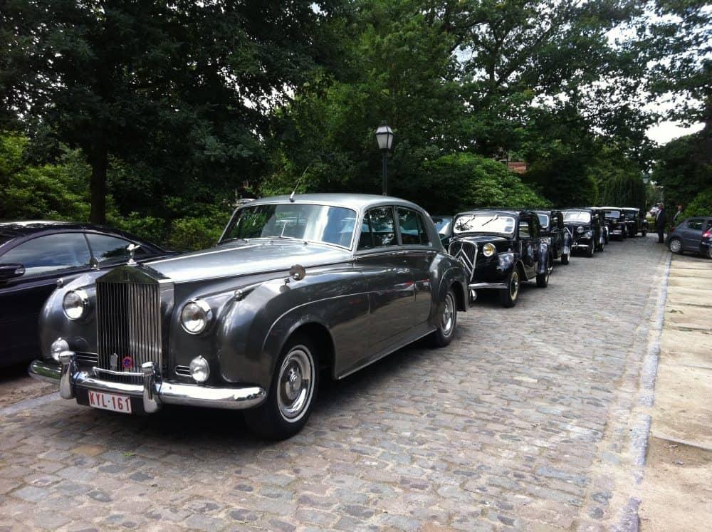 Rolls Royce Silver Cloud trouwauto