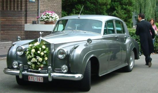 Rolls Royce Silver Cloud bruidswagen