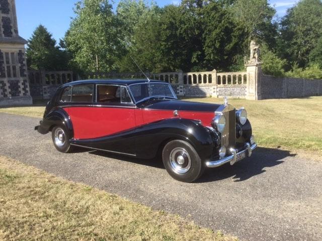 Rolls Royce Silver Wraith 1955 trouwauto