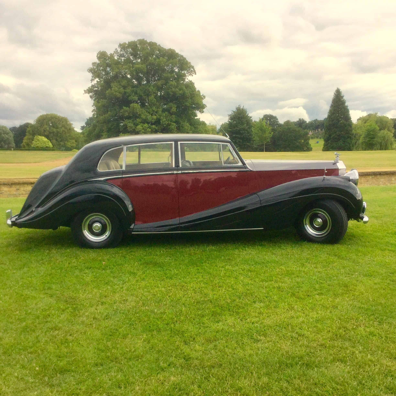Rolls Royce Silver Wraith 1955 bruidswagen