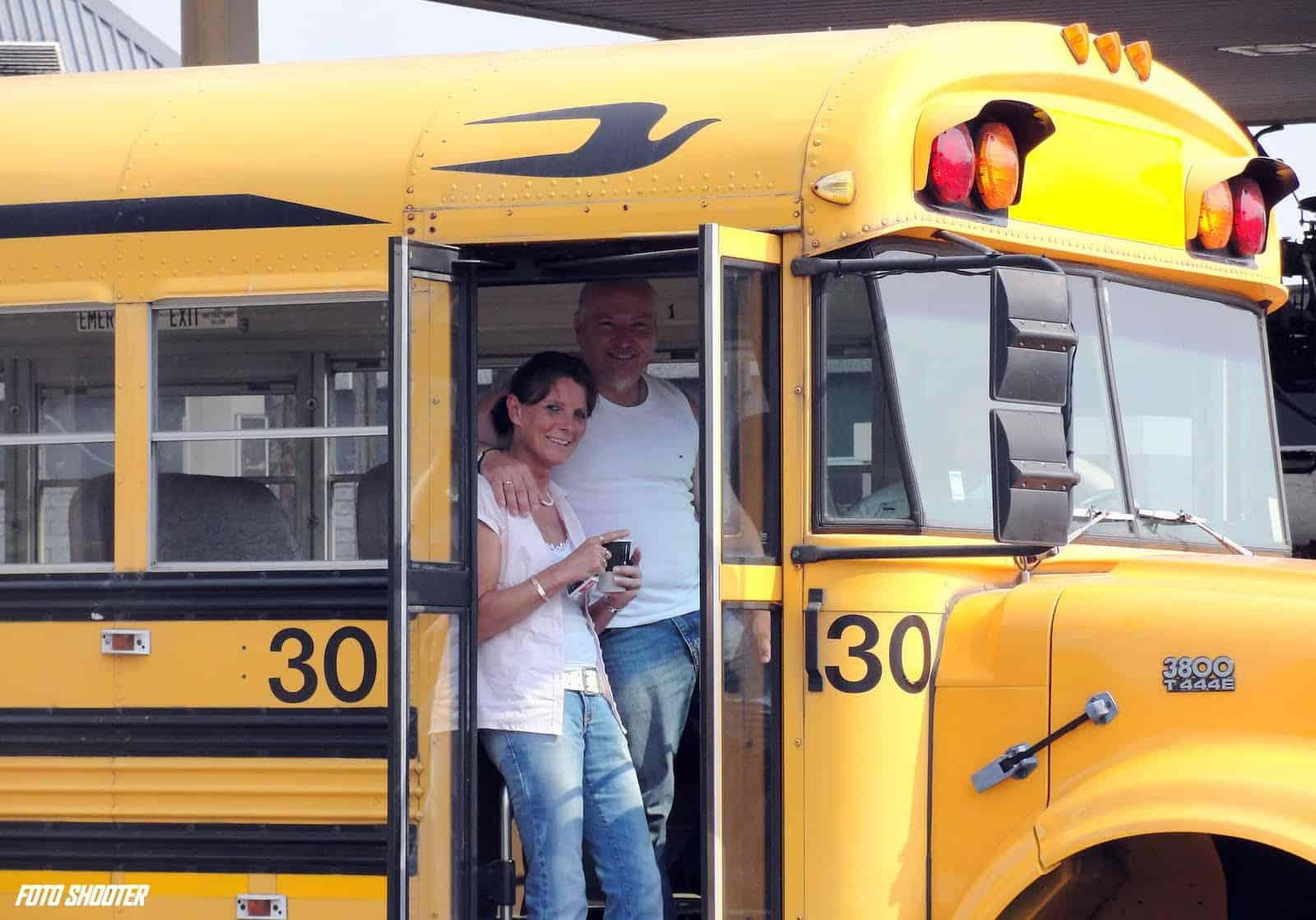 American Yellow Schoolbus Trouwbus