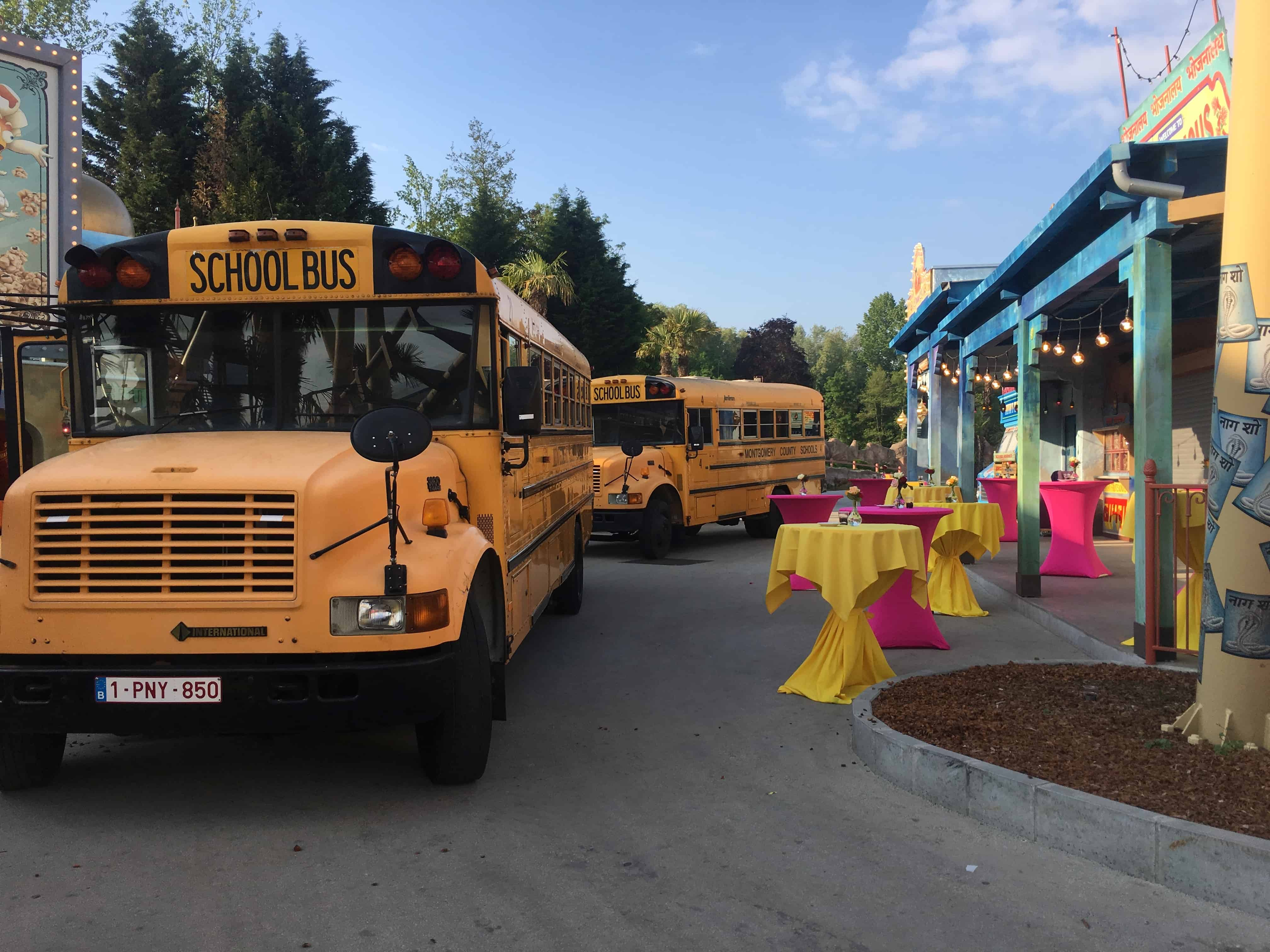 Amerikaanse schoolbus Event Pendeldienst