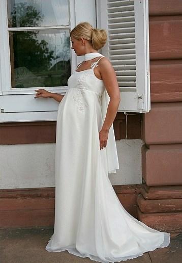 Zwangerschap bruidsjurk IMEZW-UB0721