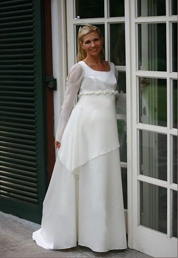 Zwangerschap bruidsjurk IMEZW-UB0832