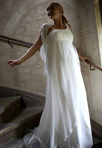 Zwangerschap bruidsjurk IMEZW-UB0901C