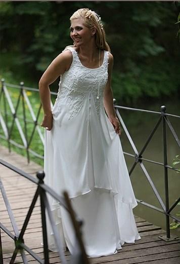 Zwangerschap bruidsjurk IMEZW-UB0903C