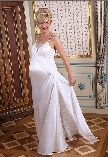 Zwangerschap bruidsjurk IMEZW-UB0905C