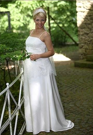 Zwangerschap bruidsjurk IMEZW-UB0935C