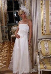 Zwangerschap bruidsjurk IMEZW-UB0937C