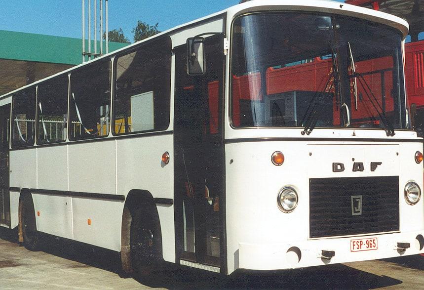 witte DAF-bus 1981