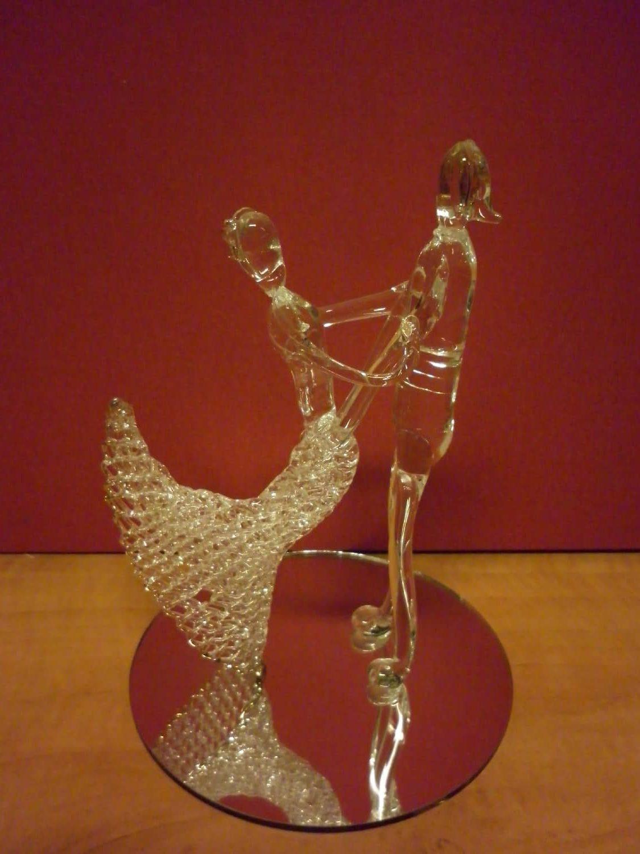 Kristallen Bruidspaar dansend