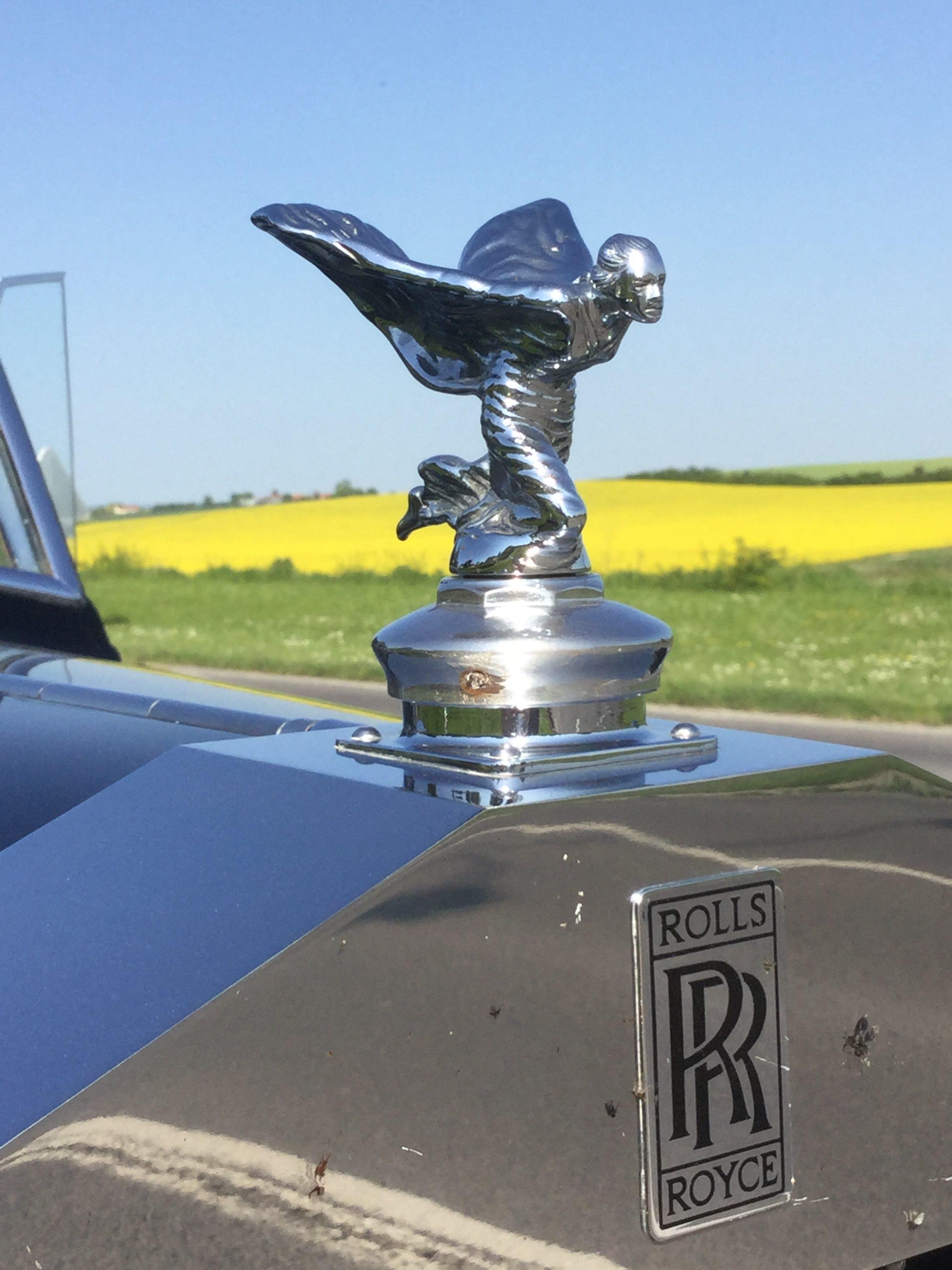 Rolls Royce Flying Lady trouwauto's te huur met chauffeur