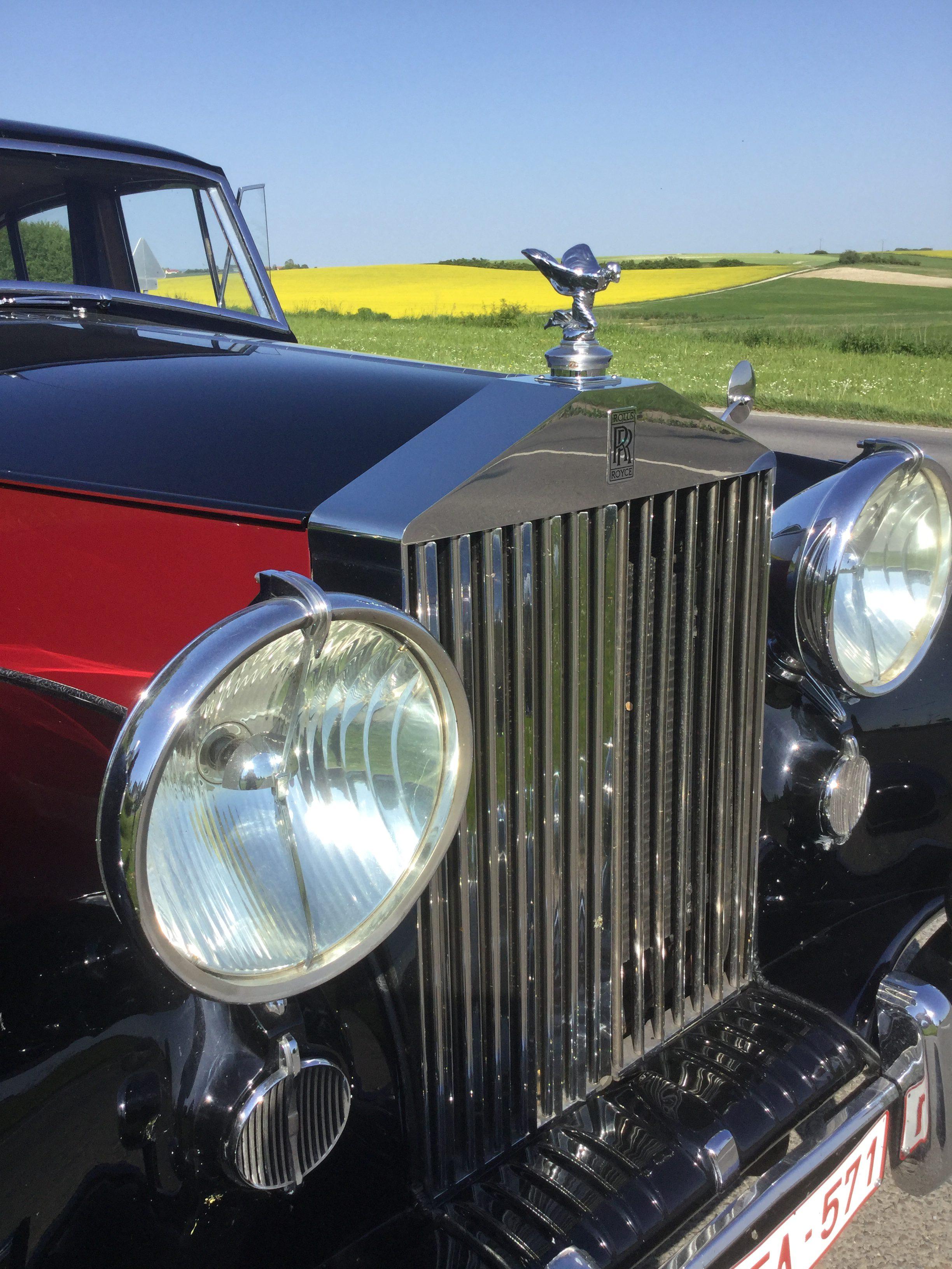 Rolls Royce Silver Wraith 1955 ceremoniewagen grote grille koplampen Antwerpen