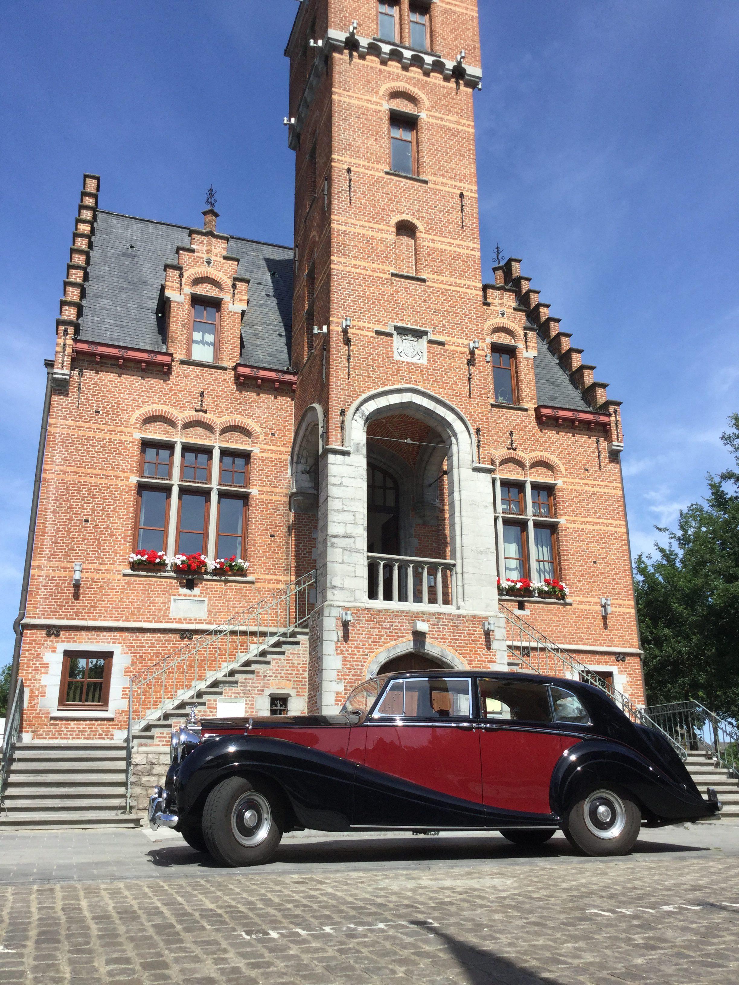 Rolls Royce Silver Wraith 1955 ceremonieauto bruidswagen Antwerpen