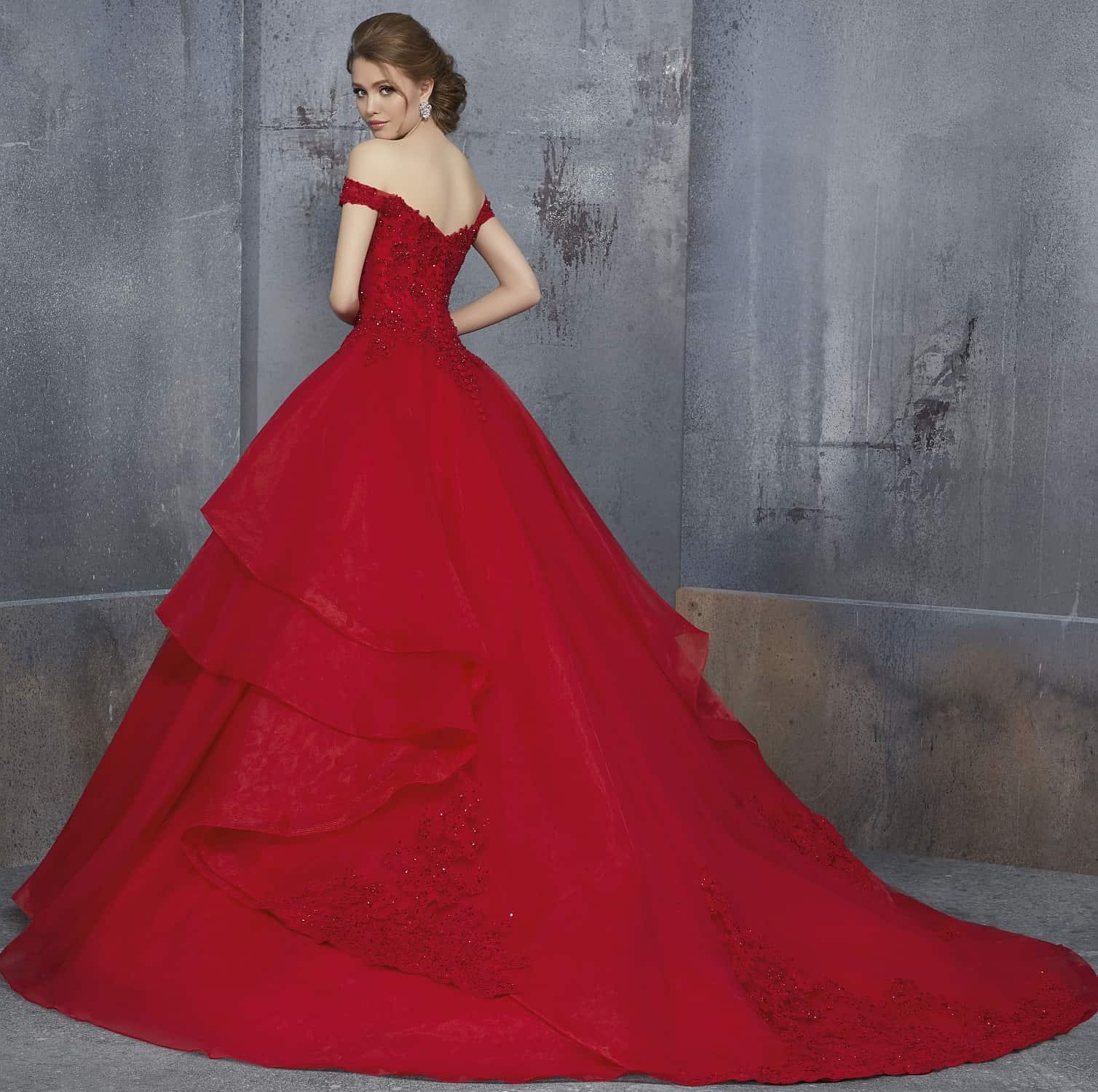 Bruidskleed rood