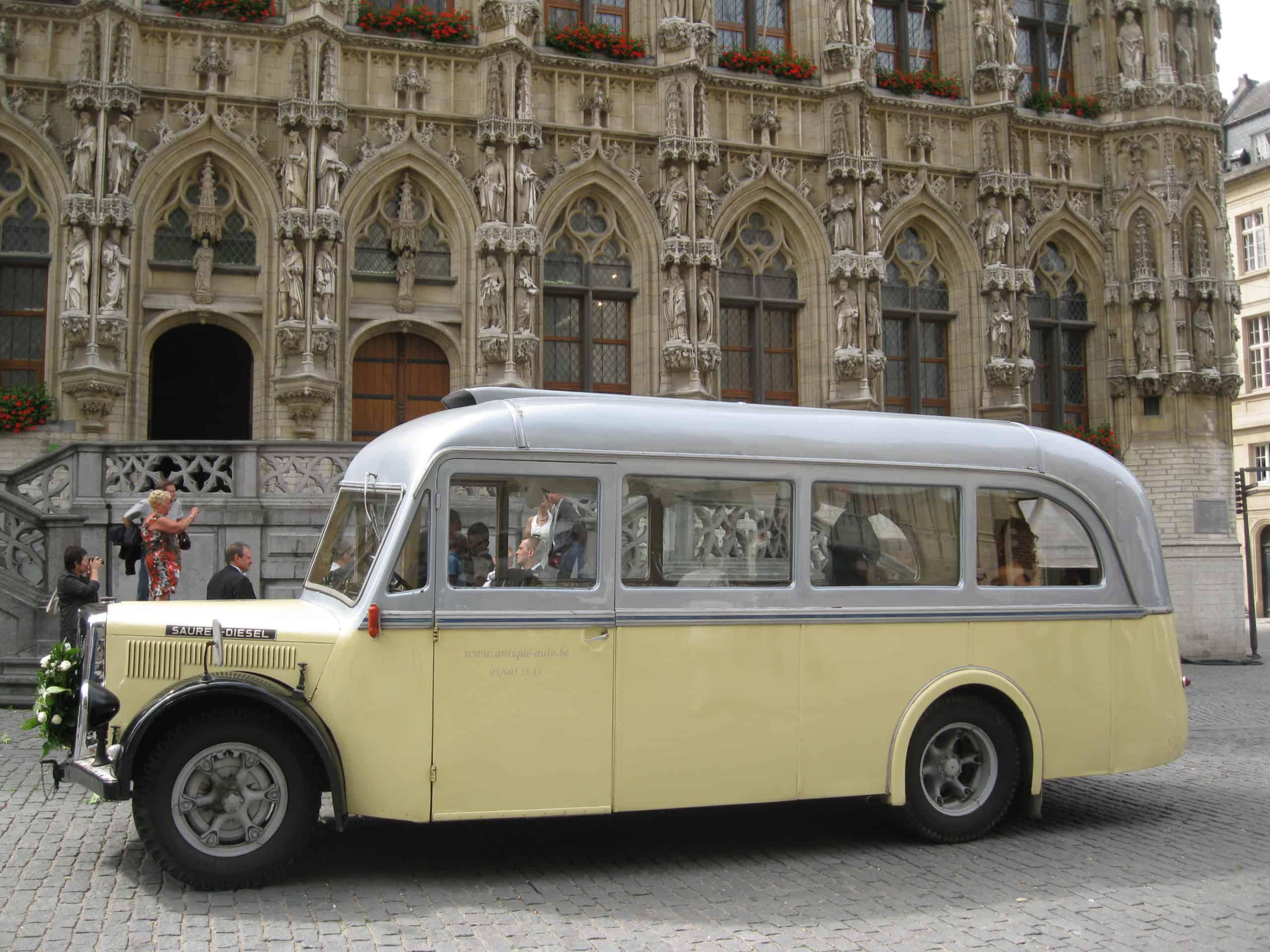Saurer bus ceremonie in Leuven