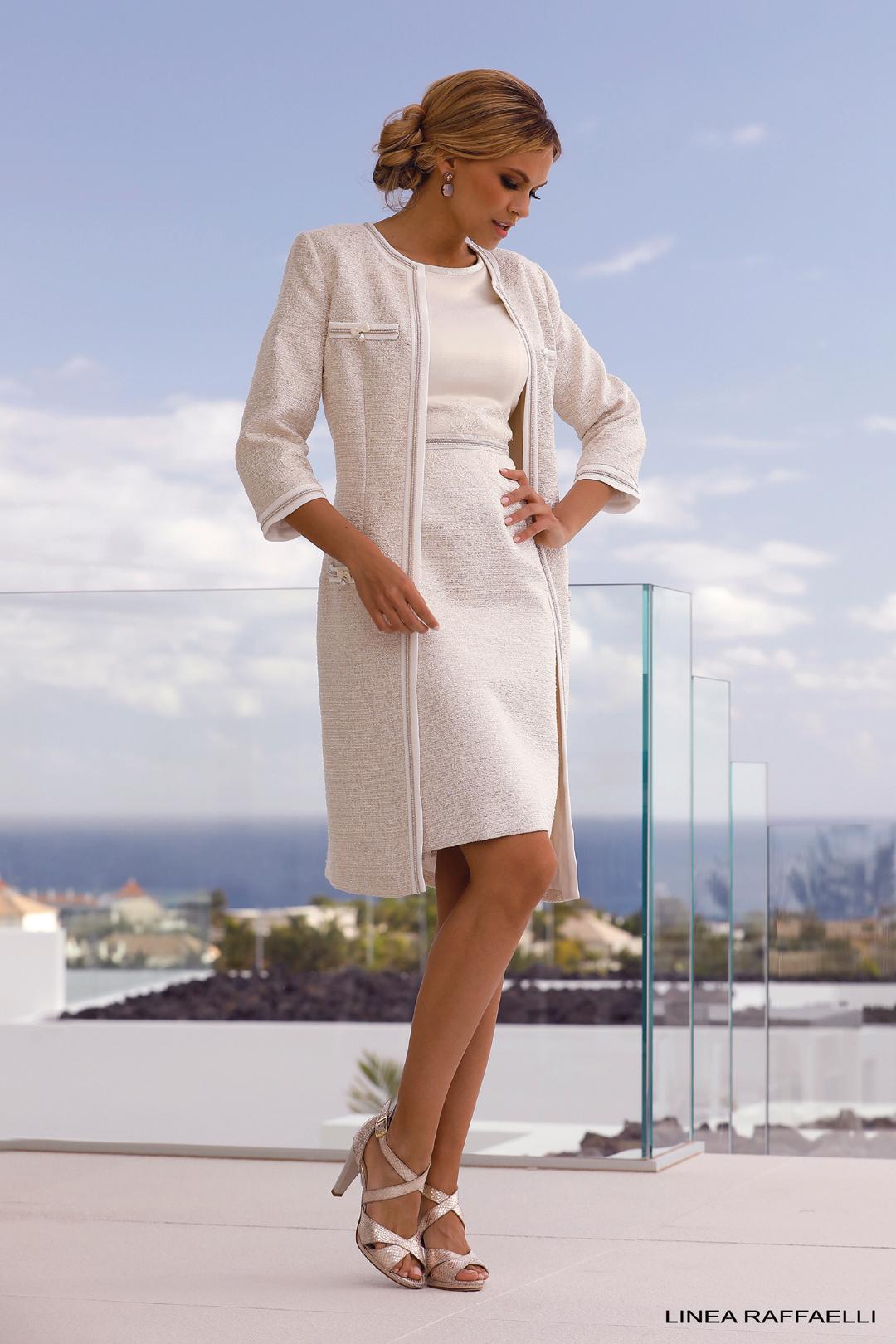 Moeder van de Bruid Feestjurk Linea Raffaelli - Tenerife 19-20 - Set 024 - 191-509-01 + 191-506-01