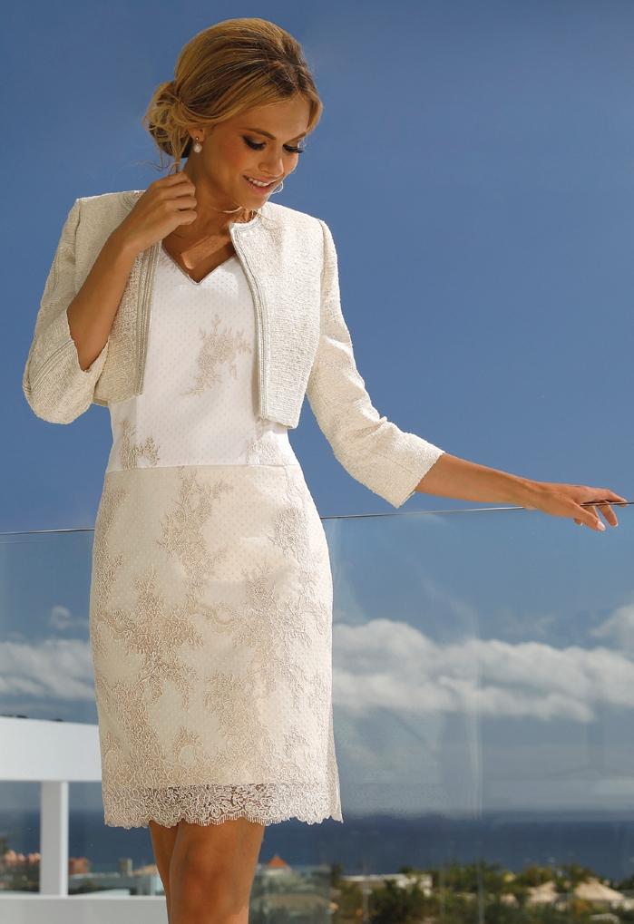 Mother of the Bride Feestjurk Linea Raffaelli - Tenerife 19-20 - Set 025 - 191-507-01 + 191-508-01cr