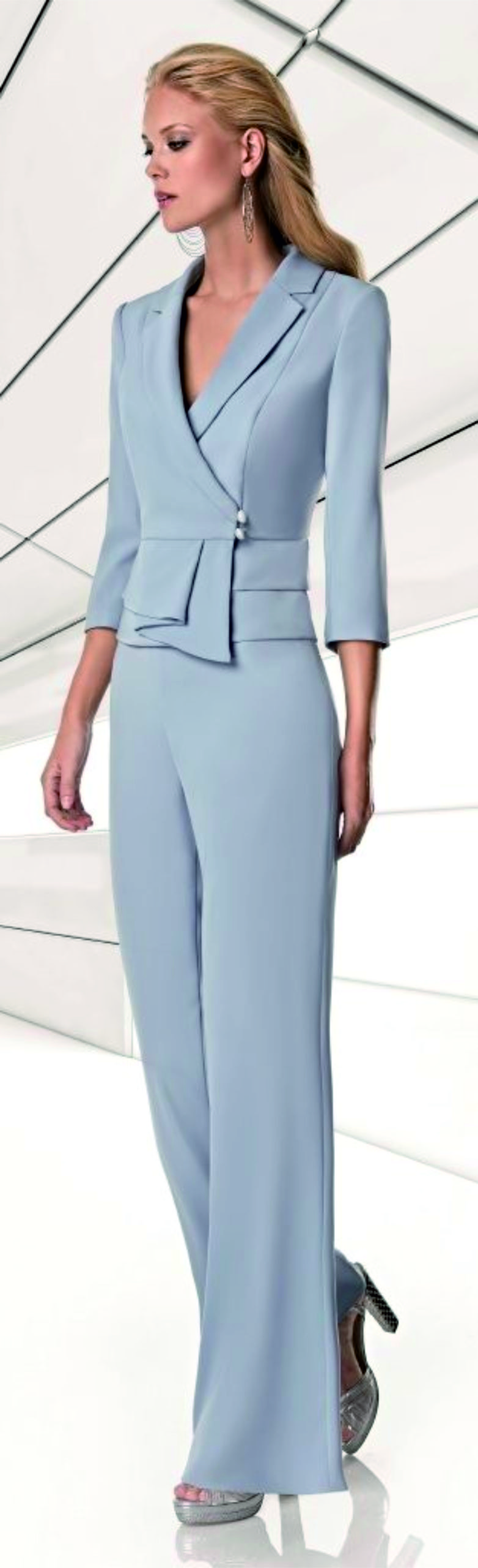 Suite mantelpak Sonia Pena 1200034 pale blue