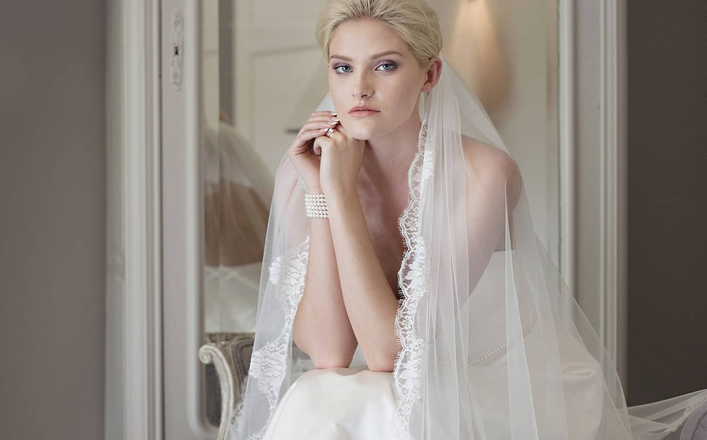 Sluier Bruidsjuwelen Bruidsparadijs sluiting Corona