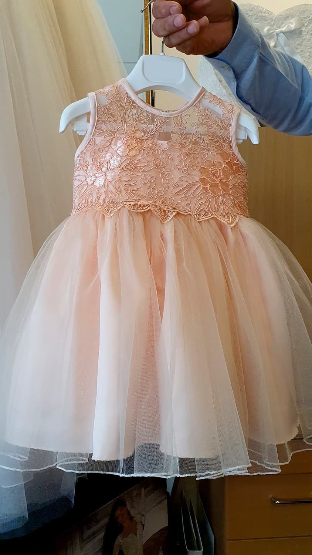 Eigen creatie bruidsmeisje jurk