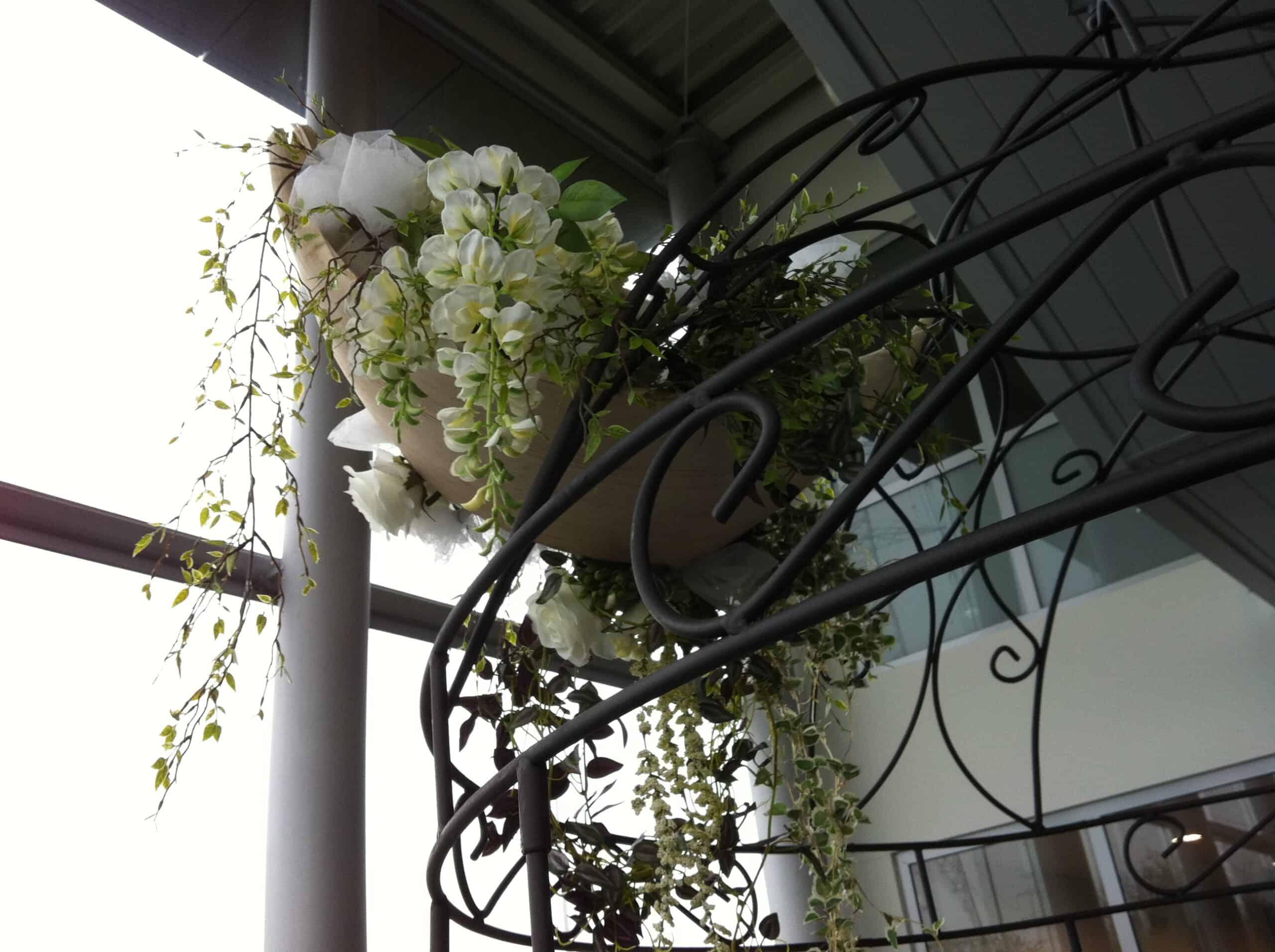 Verhuur Prieeltjes Versiering bloemen2