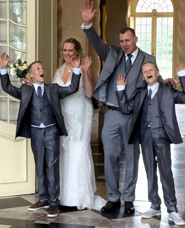 Bruidsjonkers familie