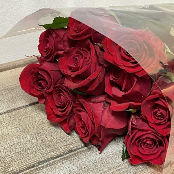 Valentijn Bloemen boeket verse Rode Rozen