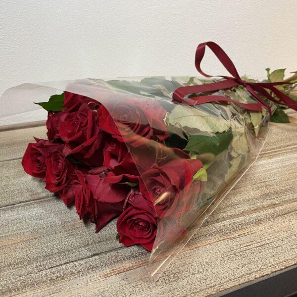 Valentijnsgeschenk Bloemen boeket verse Rode Rozen