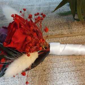 Bruidsboeket corsage gevriesdroogde bloemen DAV017