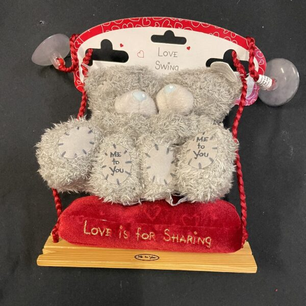 "Valentijn Ringhouder Me To You Schommel ""Love is for Sharing"" +/- 17cm"