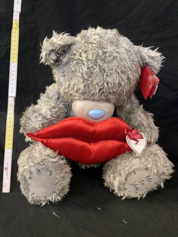 Valentijnsbeer MeToYou lippenkussen Big Kiss zittend 40cm