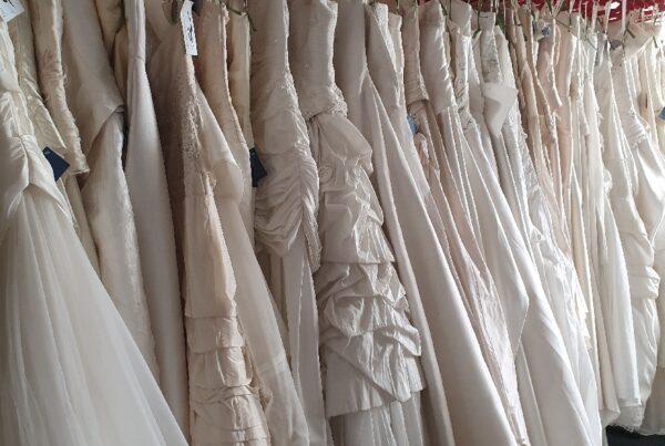 Outlet trouwjurken goedkope bruidsjurk